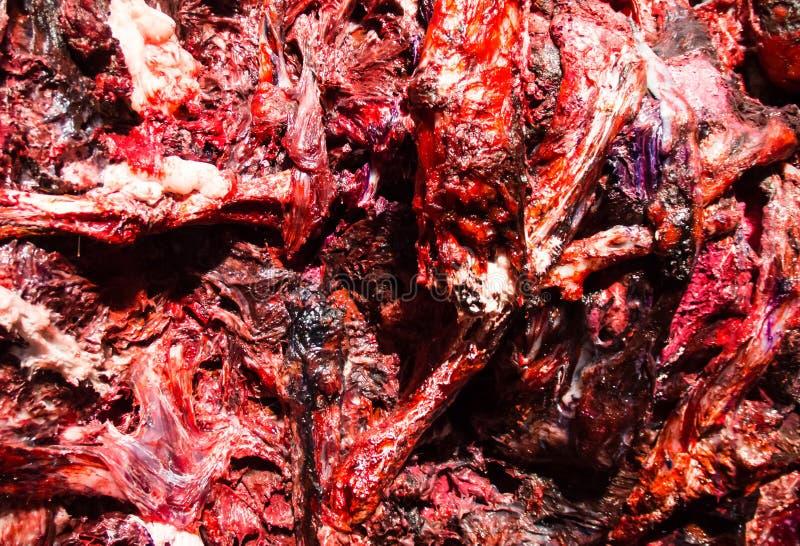 Textura da carne fotos de stock