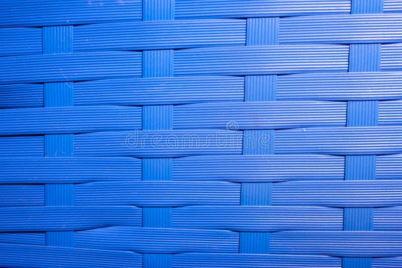 Textura da cesta de vime quebrada velha As linhas são desiguais imagem de stock
