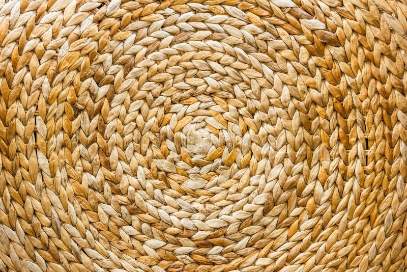 Textura da cesta de weave fotografia de stock