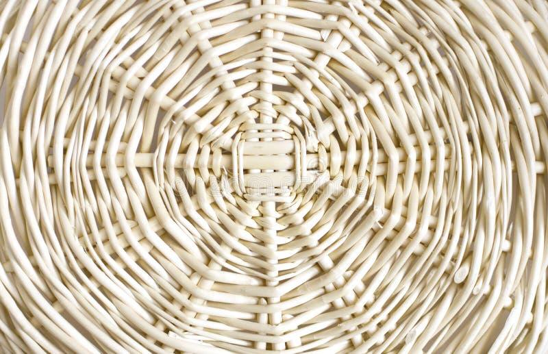 Textura da cesta do Rattan foto de stock royalty free