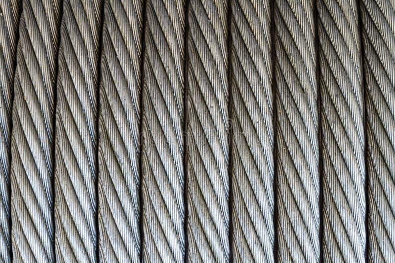 Textura da corda de fio fotos de stock