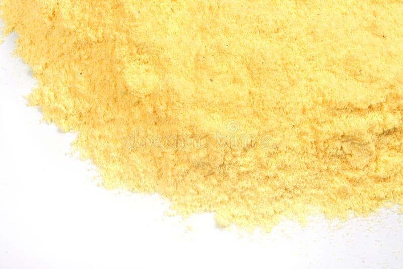 Textura da farinha de milho imagens de stock