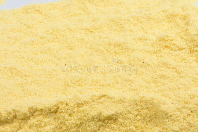 Textura da farinha de milho imagens de stock royalty free