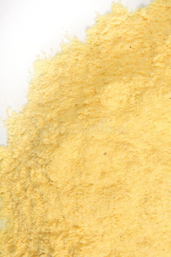 Textura da farinha de milho foto de stock