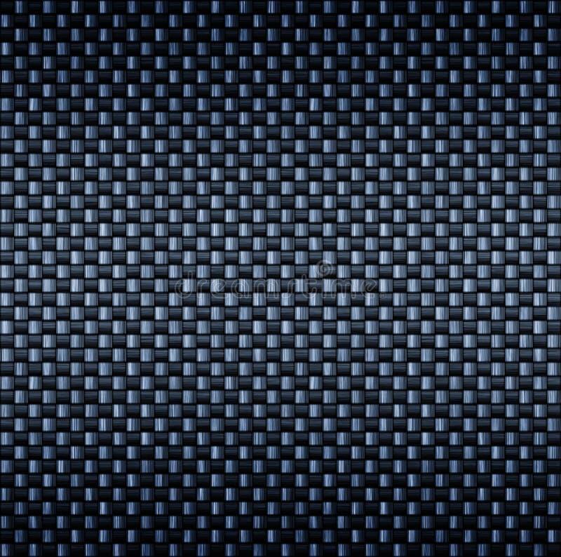 Textura da fibra da fibra do carbono ilustração royalty free
