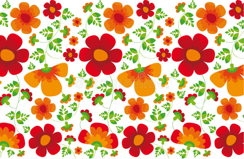 Textura da flor ilustração stock
