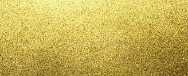 Textura da folha de ouro fotos de stock