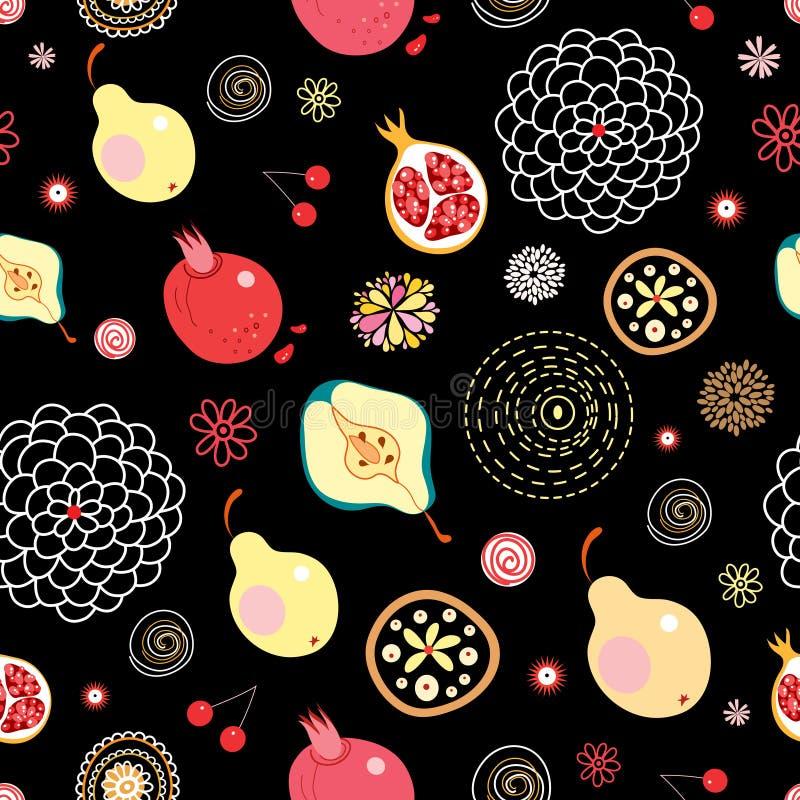 Textura da fruta ilustração stock