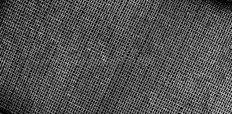 Download Textura Da Grade Do Metal Na Tonalidade Preto E Branco Imagem de Stock - Imagem de indústria, cores: 107527991
