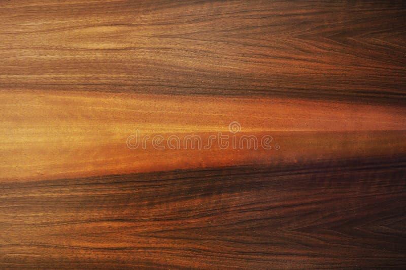 Textura da madeira da noz fotos de stock royalty free