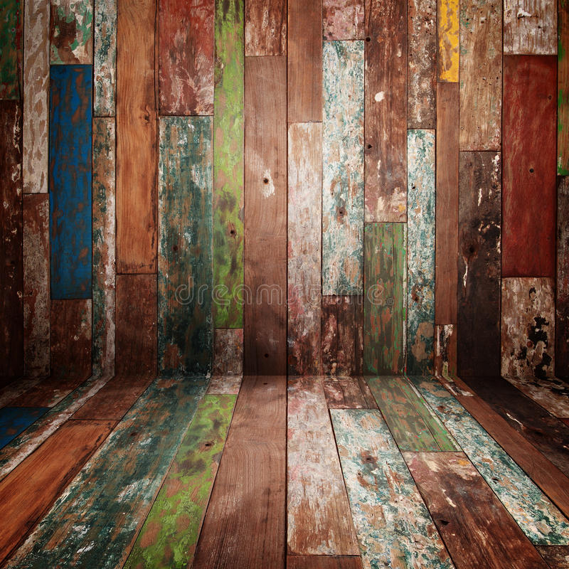 Textura da madeira de Grunge ilustração do vetor
