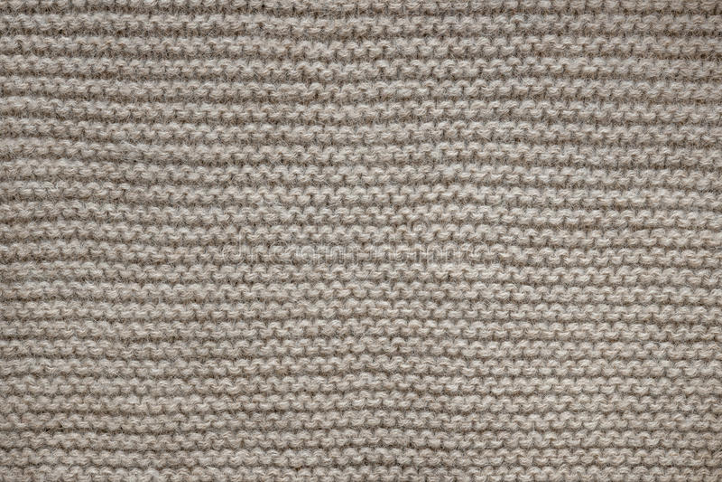 Textura da malha de lãs de Brown fotos de stock