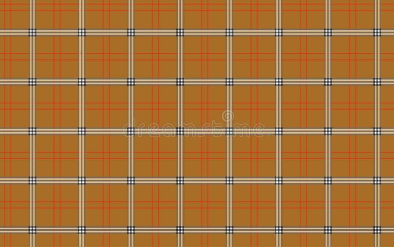 A textura da manta ilustração stock
