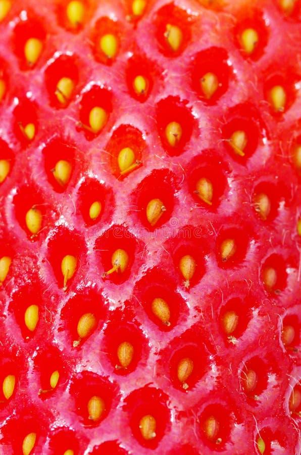 Textura da morango imagens de stock