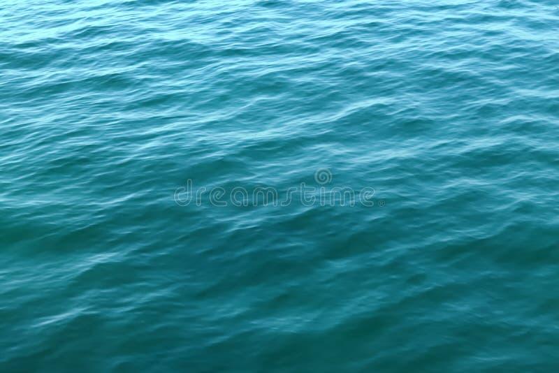 Textura da onda de oceano foto de stock