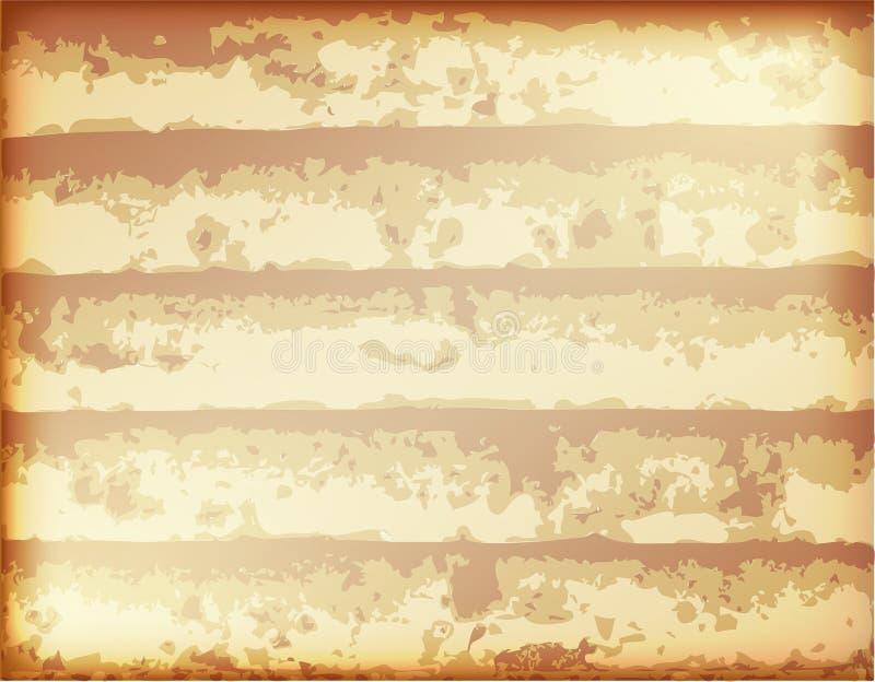 Textura da oxidação ilustração do vetor