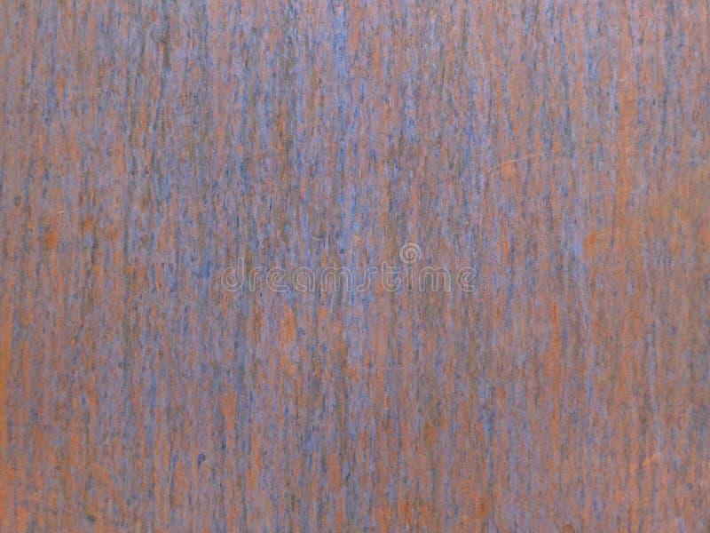 Textura da oxidação na placa de metal lisa fotografia de stock royalty free