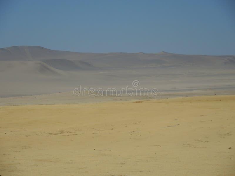 Textura da paisagem do deserto imagens de stock