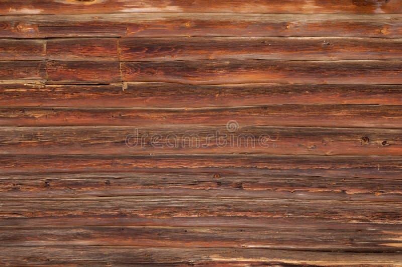 Textura da parede da casa de registro imagens de stock