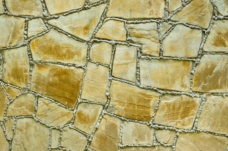 Textura da parede de pedra antiga imagem de stock