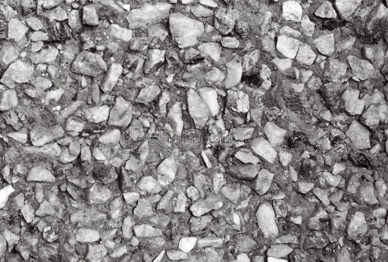 Textura da parede de pedra, pedra cinzenta pequena imagem de stock
