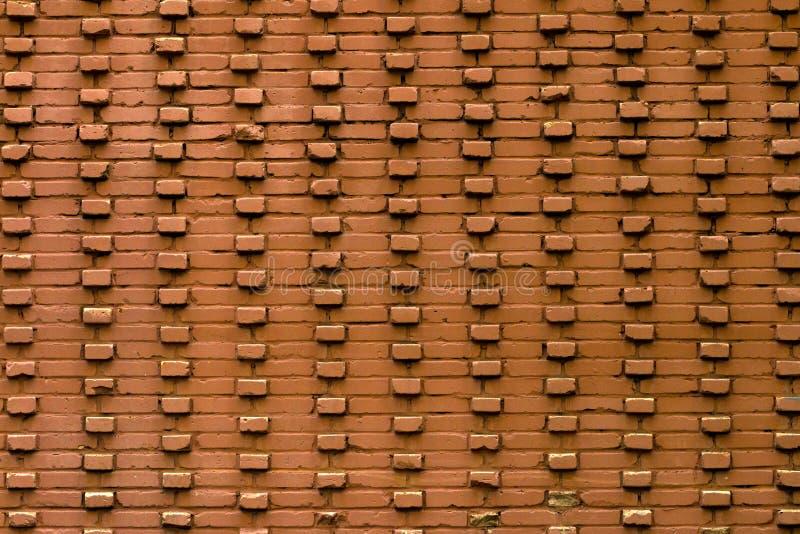 Textura da parede de tijolo velha foto de stock