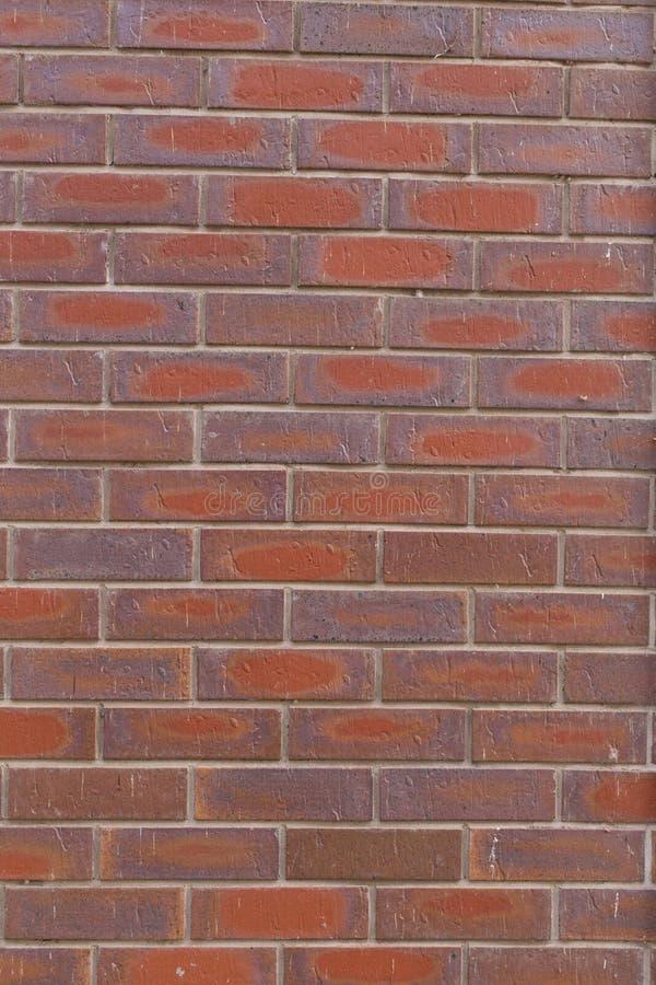 Textura da parede de tijolo vermelho imagem de stock