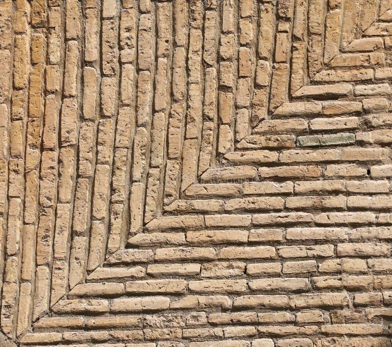 Textura da parede de tijolos antiga imagem de stock royalty free