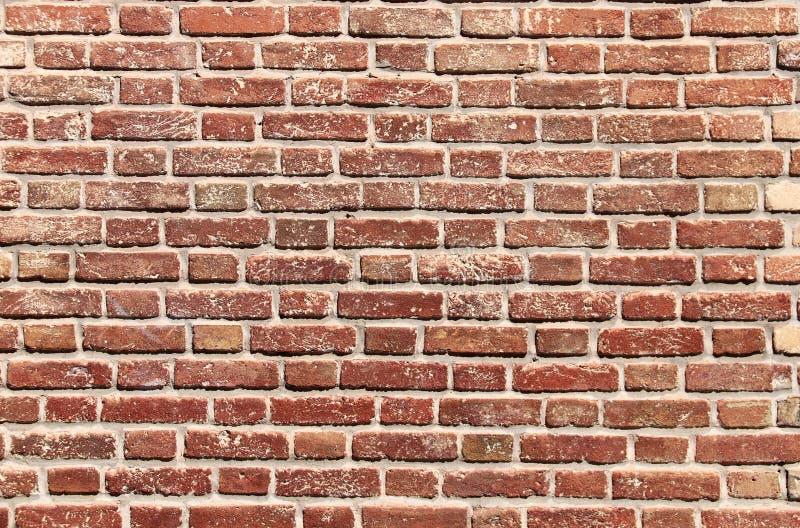 Textura da parede de tijolos antiga foto de stock