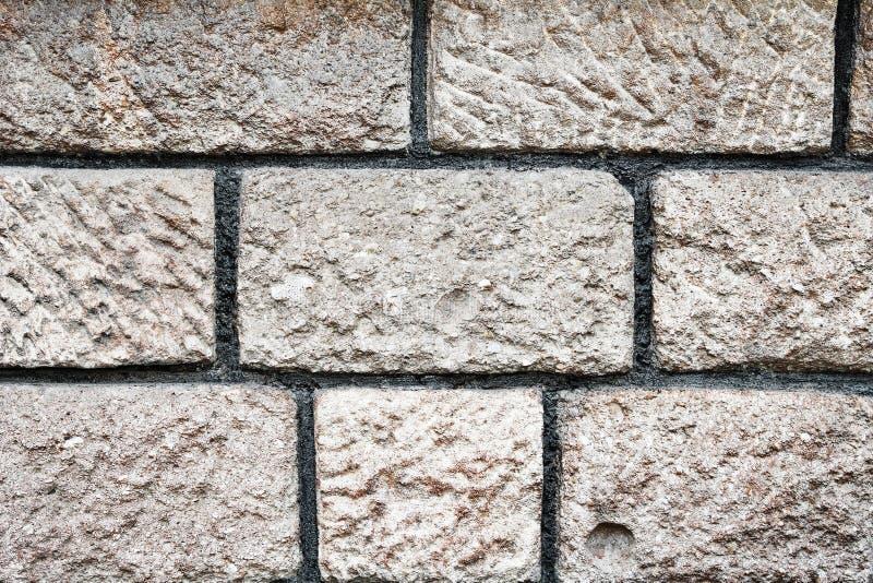 Textura da parede de tijolos de pedra foto de stock royalty free