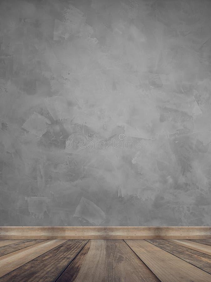 A textura da parede queimou o cimento moderno foto de stock