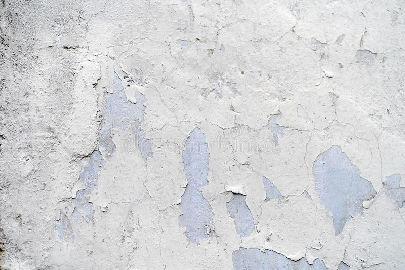 Textura da parede velha do vintage com pintura rachada fotografia de stock