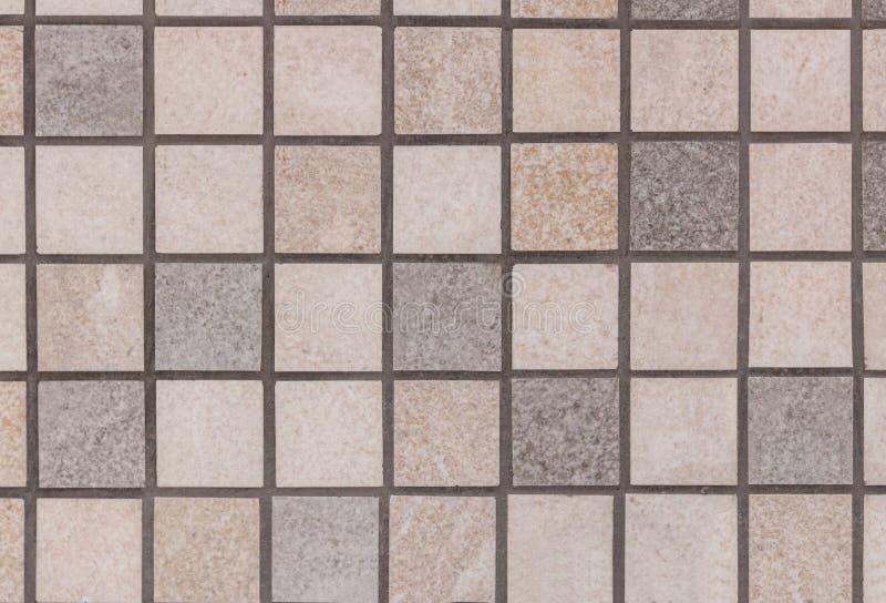 Textura da pedra decorativa de telhas de mosaico para a decoração da parede, materiais de terminação modernos fotos de stock royalty free