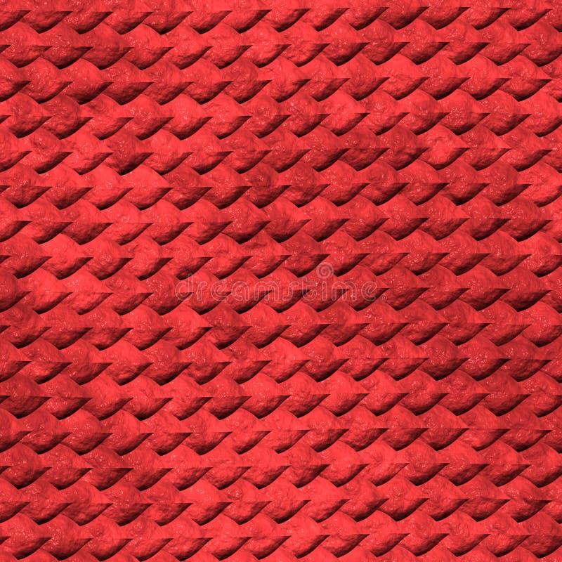 Textura da pele do réptil ilustração stock