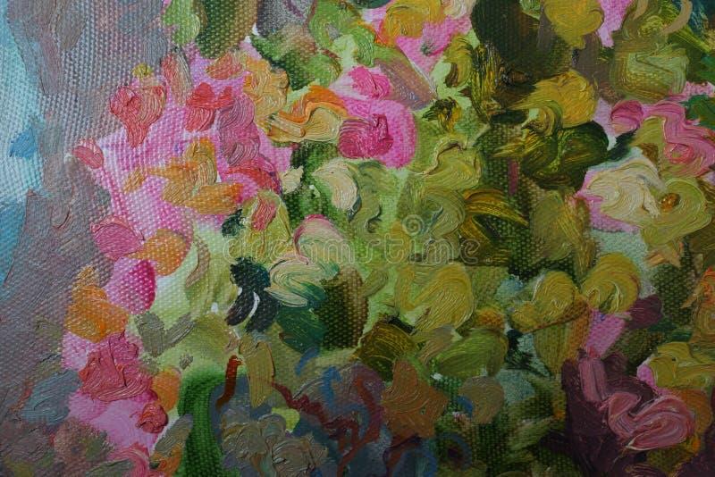 Textura da pintura a óleo imagens de stock royalty free