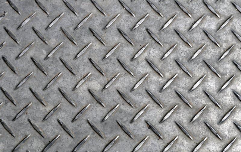 Textura da placa de aço fotos de stock