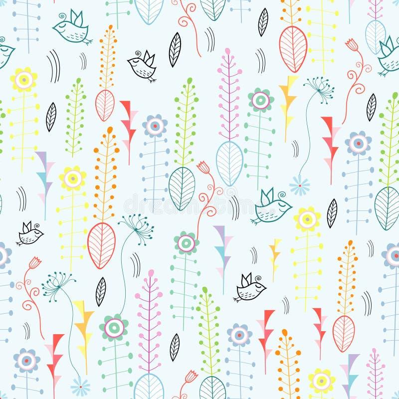 Textura da planta ilustração royalty free