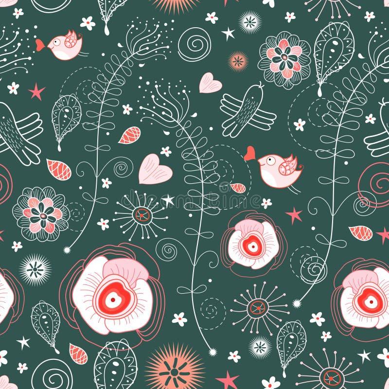 Textura da planta ilustração stock