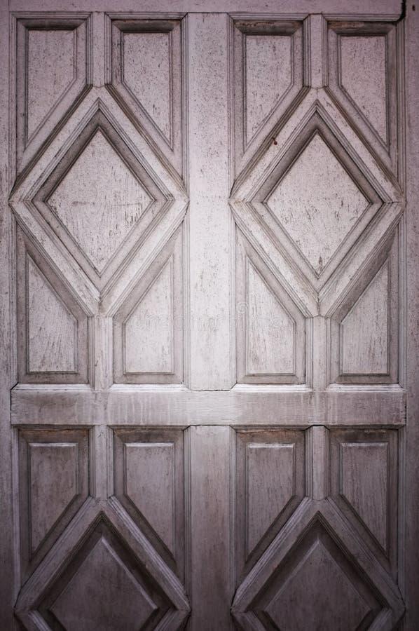 Textura da porta de madeira velha Caixa do vintage de gavetas Fundo de madeira, espaço vazio, espaço livre fotografia de stock royalty free