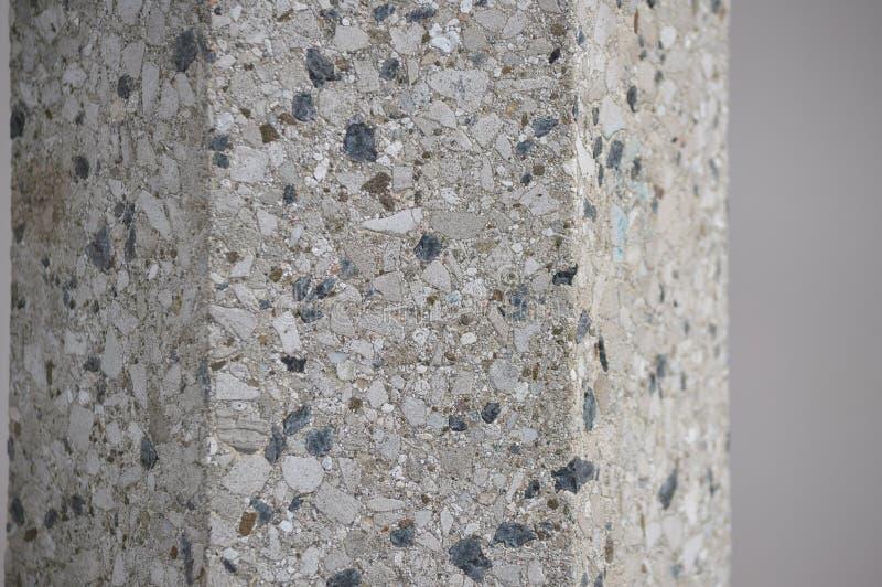 Textura da rocha branca e azul fotografia de stock