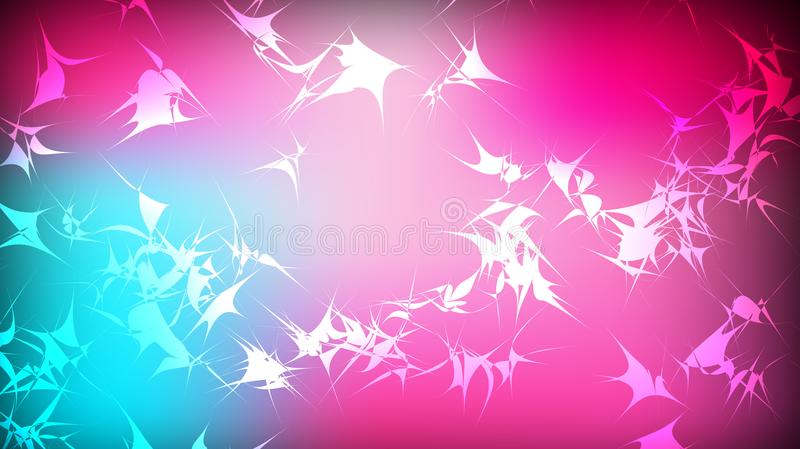 Textura da roda sarapintado violeta azul brilhante longe colorida multi-colorida mágica cósmica circular poligonal festiva bonita ilustração do vetor