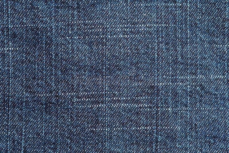 Textura da sarja de Nimes de calças de ganga fotos de stock royalty free