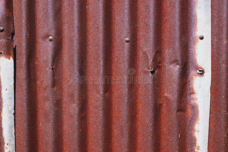 A textura da superfície velha do zinco galvanizou a oxidação, fundo oxidado do zinco imagem de stock royalty free