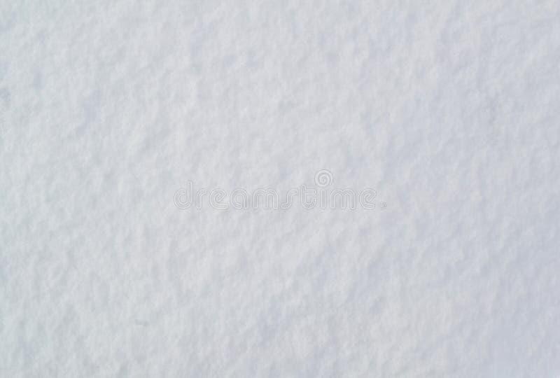 A textura da superf?cie da neve imagens de stock