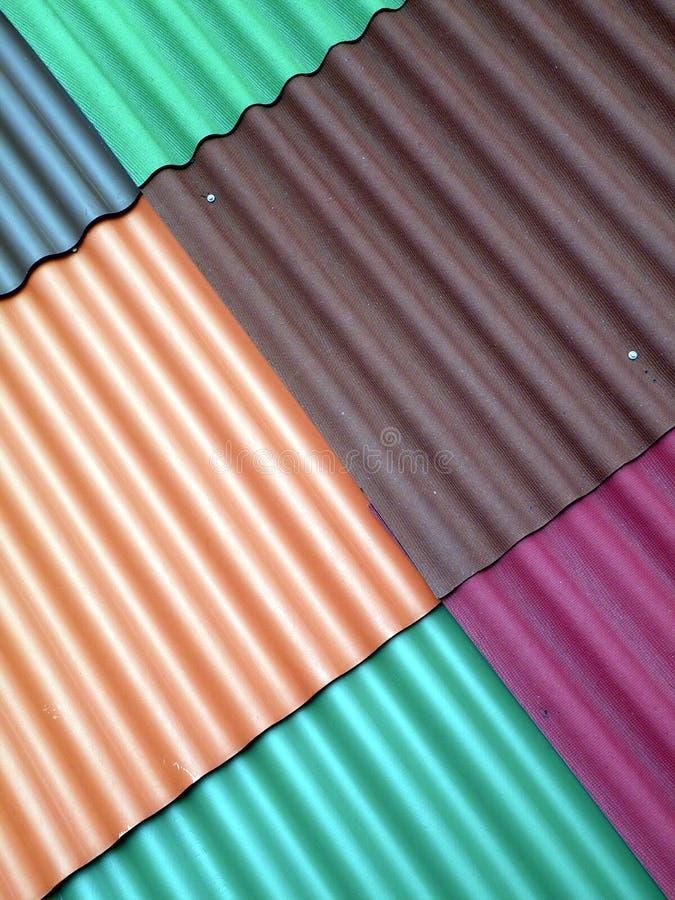 Textura da tampa do telhado fotos de stock
