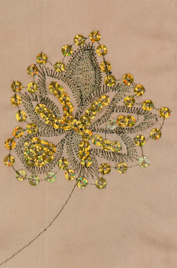 Textura da tela com lantejoulas fotografia de stock royalty free