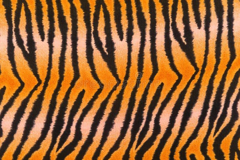 A textura da tela da cópia listra o tigre fotos de stock