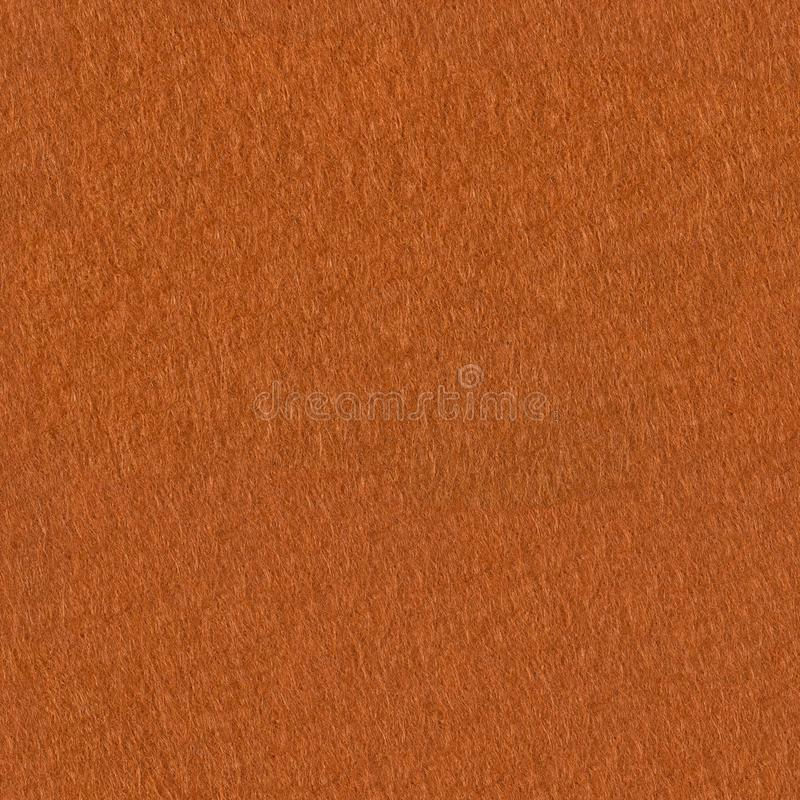 Textura da tela de feltro da laranja Fundo quadrado sem emenda, rea da telha foto de stock royalty free