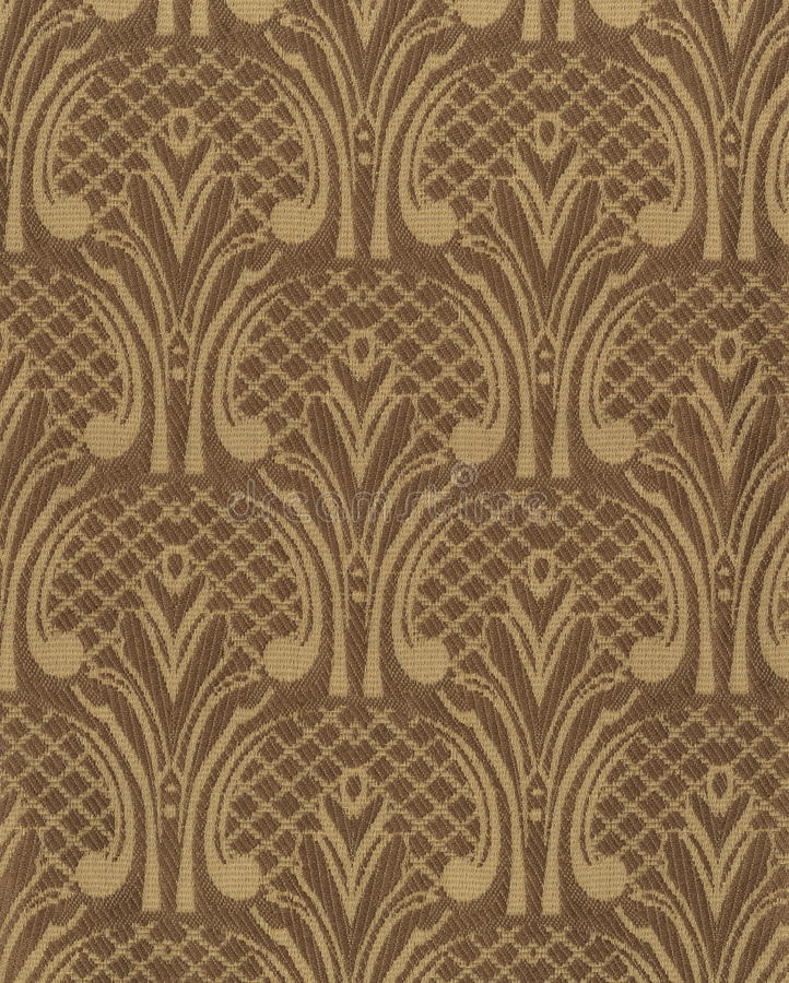Textura da tela de seda escura com um teste padrão floral bordado desproporcionado ilustração do vetor