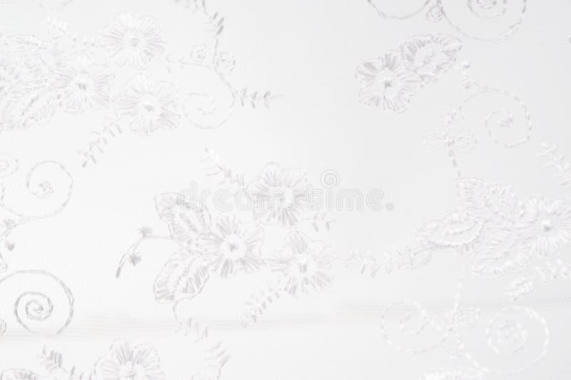 Textura da tela do casamento ilustração stock